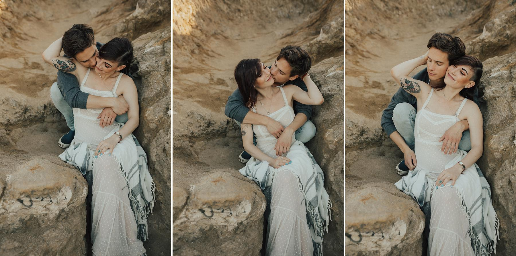 Runyon Canyon engagement photos